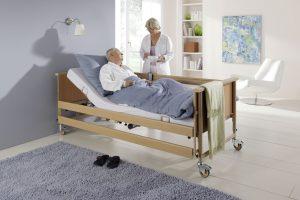 Pflegebett elektrisch verstellbar (Quelle: Burmeier)